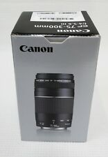 Canon EF 75-300mm F/4-5.6 III Telephoto Lens BRAND NEW, US VERSION, US WARRANTY
