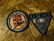 Titanfall 2 Vanguard Collector's Edition Squad Morale Velcro-Style Patches *NEW*
