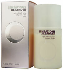 (46,63EUR/100ML) 150ML JIL SANDER - SENSATIONS - LIGHT MILK BODY SPRAY NEU OVP