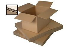"60 CARDBOARD BOXES/DOUBLE WALL BOX 15x11x11"" + FREE p&p"