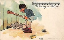 POSTCARD   COMIC    A hunting we will go    Song  related        PYP