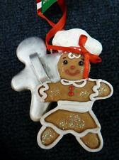 KSA ADLER Gingerbread Man Baker Chef Christmas Ornament NEW w tag (o2269)