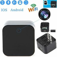 WIFI Full HD 1080P SPY Hidden Camera Wall Charger Adapter DVR Video Recorder Cam