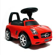 Benz Ride-on toy car for kids Music  Direction adjustable handle Protect  Back