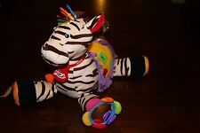 K's Kids Ryan Small Activity Center Zebra, Baby Developmental Plush Toy