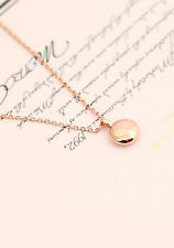 NEW Korean TV Drama Doctor Crush Doctors Park Shin Hye Necklace Rose Gold