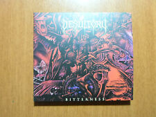 Desultory - Bitterness DIGIPACK CD Brazil Reissue 2015 w/ Bonus  / Remastered