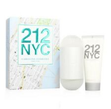 212 by Carolina Herrera 2 pc Travel Set 3.4 EDT Perfume for Women + Body Lotion