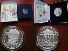 REPUBBLICA ITALIANA I.P.Z.S. MONETA ARGENTO 10 € PROOF 2008 - ANDREA PALLADIO -