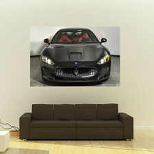 Poster of Maserati GranTurismo Giant Super Car Huge Print 54x36  137 x 91 cm