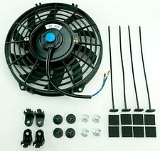 "Universal 16"" 406 mm Radiator Electric Cooling Fan Slimline Front or Rear Mount"