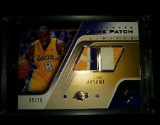 2004-05 KOBE BRYANT UD LIMITED ULTIMATE GAME 3 COLOR DUAL LOGO PATCH #25/25 1/1!