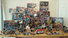 Lego movie collection over 11500 pieces inc sea cow all retired 87 minifigures