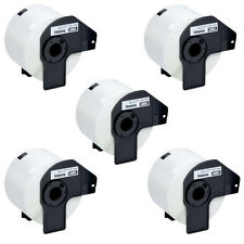 5 x COMPATIBLE BROTHER DK-11202 62mm x 100mm 300 SHIPPING LABEL ROLL P-TOUCH