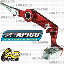 Apico Red Rear Foot Brake Pedal Lever For Montesa 315R 1997 Trials Models New