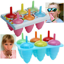 Kids ICE LOLLY Home Made partito trattare LOLLIES MUFFA MAKER Congelatore Cassetto Estate Divertimento