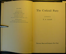 The Cocktail Party by T. S. Eliot US First Edition 1950