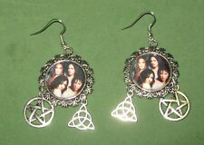 """CHARMED SISTERS""- HALLIWELL SISTERS EARRINGS-HAND CRAFTED"