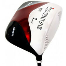 "NEW  MENS LEFT HANDED +1"" LH SQUARE DRIVER GOLF CLUBS"