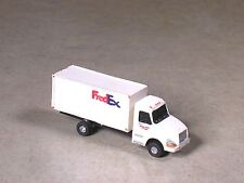 N Scale 2002 Fred Ex White Volvo Box Delivery Truck