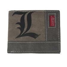 Anime Death Note L Lawliet Canvas Wallet Purse Holder Cosplay Collection