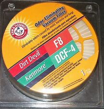 Arm and Hammer Ordor Eliminating Vacuum Filter Dirt Devil F8 Kenmore DCF 4