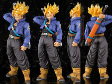 Japanese Anime DBZ Dragon Ball Z Super Saiyan Trunks Figure Figurine 20cm No Box