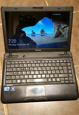 "Toshiba L630 , Core I3 2.27GHz, 4Gb, 250Gb, Wifi, Win10, Webcam, HDMI, 14.1"" LCD"