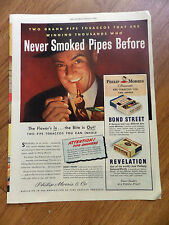 1946 Bond Street Revelation Pipe Tobacco Ad