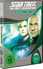 STAR TREK: THE NEXT GENERATION, Season 3.1 (3 DVDs) NEU+OVP