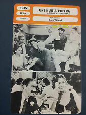 Marx Brothers Chico Harpo Groucho Zeppo A Night At The Opera French Trade Card