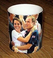 Prince William and Kate at the Olympics Celebrating MUG
