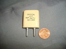 """""""10XAJ"""" 6643.33 KHZ CRYSTAL FOR AMATEUR RADIO TRANSMITTERS AND RECEIVERS,"""