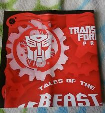 TRANSFORMERS BEAST HUNTERS SMOKESCREEN INSTRUCTION BOOKLET MINT