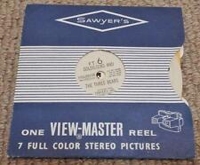 Vintage Viewmaster Reel of Goldilocks and The Three Bears