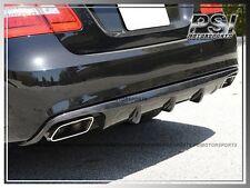 Mercedes-Benz W212 E-Class E63AMG Bumper Carbon Fiber V-Style Rear Diffuser E550