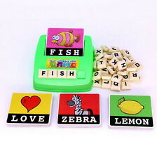 English Spelling Alphabet Letter Game Early Learning Educational Toy Kids Gift O