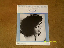 Stephanie Mills sheet music Something in the Way... 1989 6 pp. NM shape