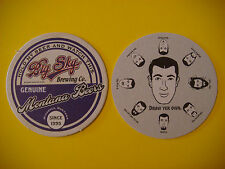 Beer Coaster <> BIG SKY Brewing Co Since 1995 ~ Missoula, MONTANA >< Draw A Face