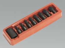 MARCH SALE! Spline Impact Socket Bit Set 1/2 Drive M6 M8 M10 M12 M14 M16 M18