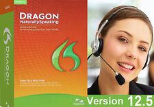 NEW Dragon Naturally Speaking 12.5 Home Edition 12 FAST SHIPPING