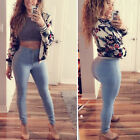 Womens High Waist Jeggings Jeans Stretchy Pencil Pants Trousers Skinny Leggings