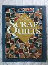 Scrap Quilts Quick Easy by Patricia Wilens Leisure Arts Stars Hexagon Log Cabin