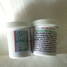 Copper Foil Solder FLUX - Novacan Old Masters 4 oz Water soluable easy cleaning
