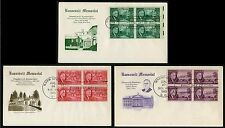 #930-932  Franklin D Roosevelt, Grimsland FDC **ANY 4=FREE SHIPPING**