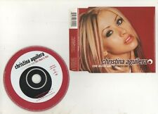 christina aguilera - come on over baby rare australian  cd