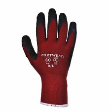Portwest A140 Thermal Warm Winter Latex Palm Coated Grip Glove 6,12,24,48