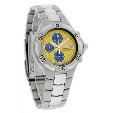 Citizen Promaster Chronograph Mens Yellow/Blue Dial Watch AN0690-52Y
