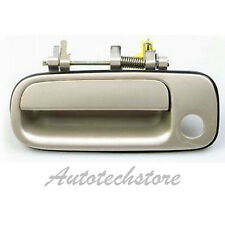 B372 92-96 Toyota Camry Outer Door Handle BEIGE 4M9 Front Left Driver Side New