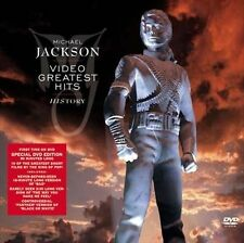 MICHAEL JACKSON - HISTORY VIDEO GREATEST HITS NEW DVD